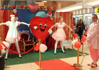 Valentijn met acteurs en decor - puurentertainment