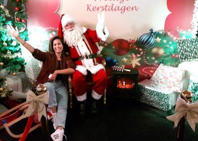Decor met Kerstman - puurentertainment