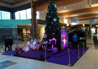 Kerst decor in Winkelcentrum - puurentertainment
