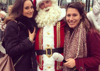 Kerstman met dames - puurentertainment
