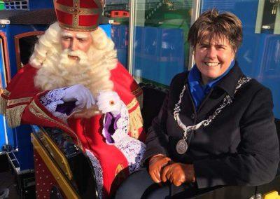 Sinterklaas trein -puurentertainment