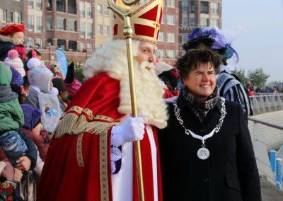 Sint aan kade met Burgemeester - puurentertainment
