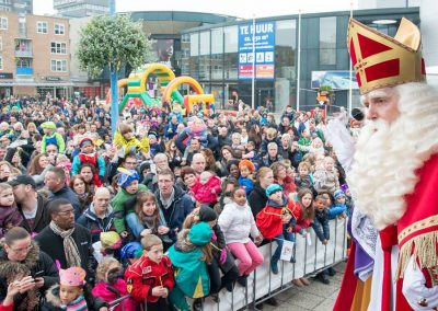 Sinterklaas met publiek -puurentertainment